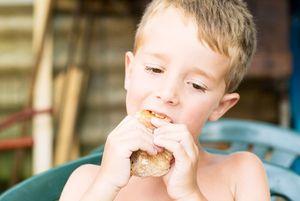 Consumo de jamón ibérico en los niños