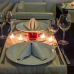 Productos indispensables en una cena romántica