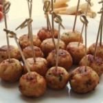 Buñuelos de jamón ibérico y queso