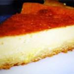 Tarta de queso y jamón ibérico batido