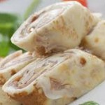 Crepes de jamón ibérico