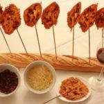 Snack divertido y fácil de hacer: piruleta de jamón ibérico y queso