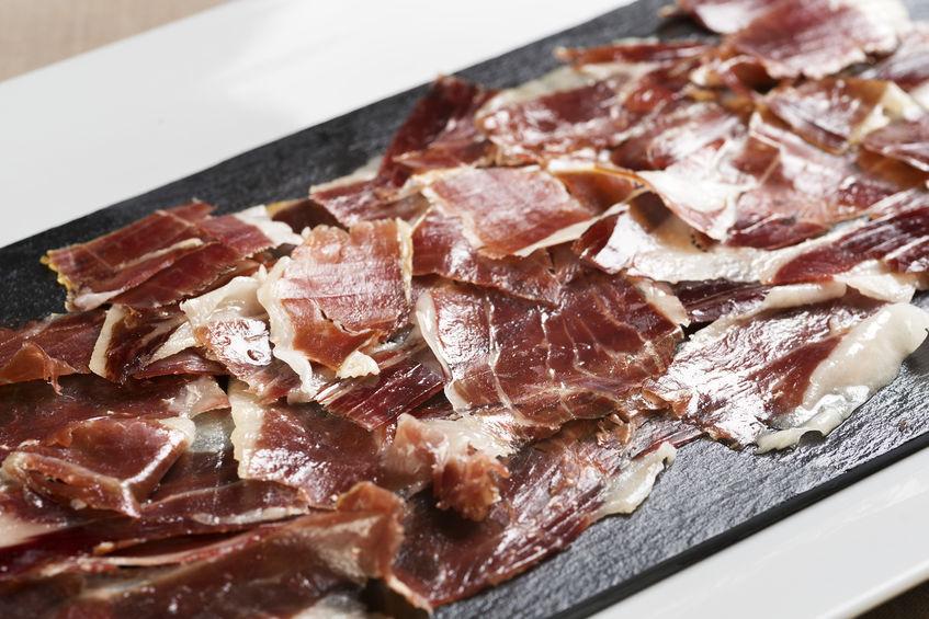 El jamón ibérico, una de las siete maravillas gastronómicas.