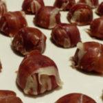 Bombones de jamón ibérico