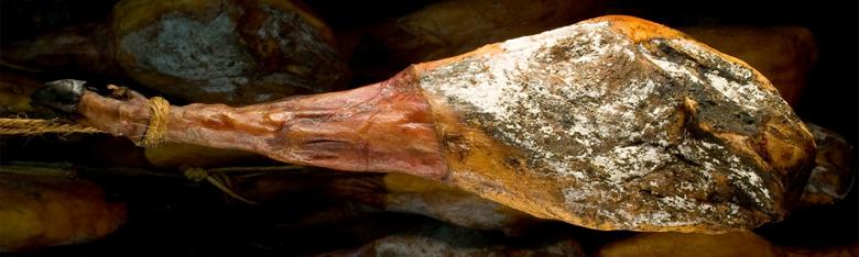 El moho del jamón ibérico no afecta a su calidad.