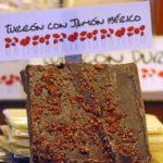 Estas Navidades, turrón de chocolate negro y jamón ibérico