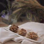 Alcachofas rellenas de jamón ibérico y nueces